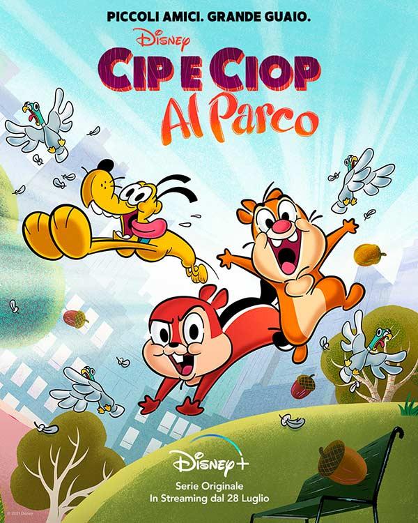 Cip e Ciop al parco Disney Plus