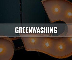 Greenwashing significato