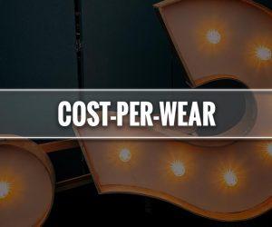 cost per wear significato