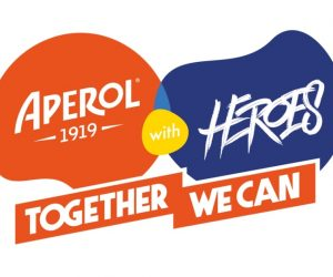 Aperol with Heroes Together we can