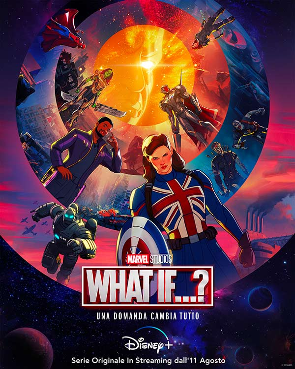What if poster serie animata Marvel