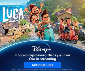 banner Luca Disney plus