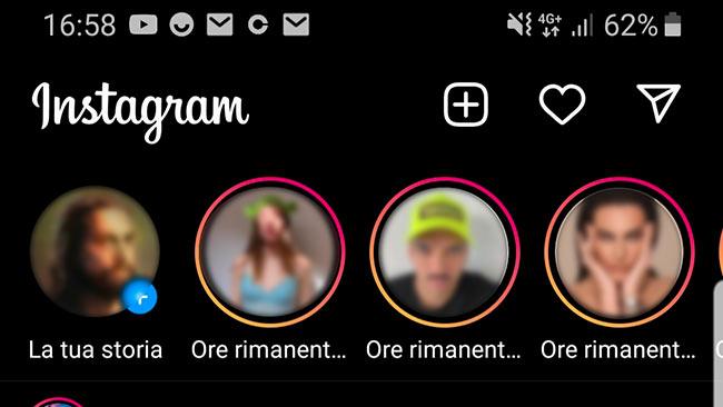 Instagram tempo rimanente storie