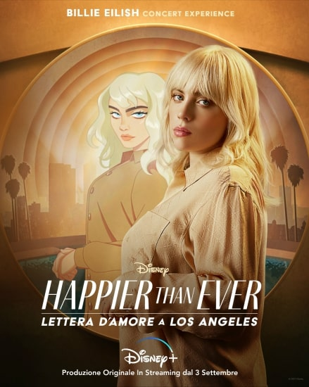 Happier Than Ever Lettera d'amore a Los Angeles poster