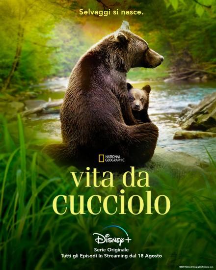 Vita da cucciolo poster Disney