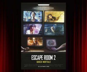 Escape Room 2 Gioco Mortale poster del film