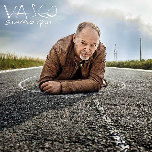 Vasco Rossi copertina album siamo qui