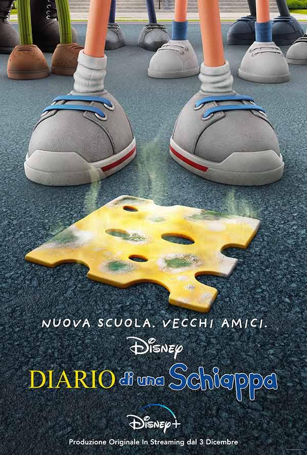 Diario di una schiappa film teaser poster
