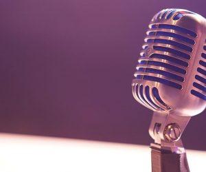 foto microfono vintage